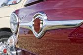 Vintage italian car detail — Stock Photo