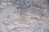 Roman floor mosaic — Foto de Stock
