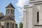 Paris Montmatre Cathedral detail — Stock Photo
