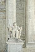 Washington DC Supreme Court facade — Stock Photo