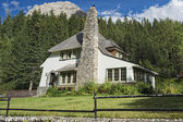 Mountain house in Canada — Stock Photo