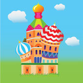 Saint Basil's Cathedral — Stock Vector