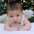 Baby boy with angel wings — Stock Photo #41091153