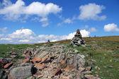 Rocky landscape. Moose Lake Mount. New Hampshire — Stock Photo