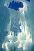 Beautiful icicles — Stock Photo