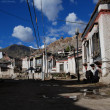 The old  town of Gyantse - Stock Photo