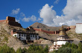 The old town of Gyantse — Stock Photo