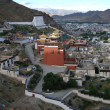 The city  of  Shigatse — Stock Photo