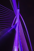 Putrajaya Bridge structure — Stock Photo