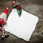 Christmas card with Santa — Stock Photo #17179491