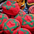 Stock Photo: Red hats from Morocco