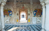 India, Bikaner. Entrance of a palace — Stock Photo