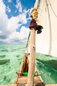 Traditional boat sailing — Stock Photo