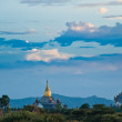 Sky over Bagan - Stock Photo