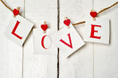 Message of Love — Stock Photo