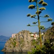 View of Manarola, Italy - Stock Photo