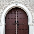 Door of a Moroccan Mosque - Stock Photo