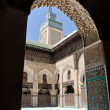 Madrasa in Fez, Morocco — Stock Photo