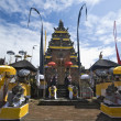 Balinese temple, Indonesia - Stock Photo