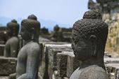 Borobudur tempel, java, indonesië — Stockfoto