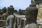 Borobudur temple, Java, Indonesia — Stock Photo