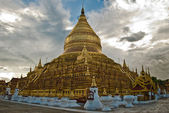 Myanmar, Bagan, buddhist temple — Stock Photo