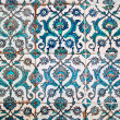 Decorated tiles, arabian style — Stock Photo