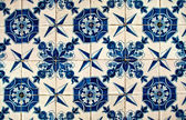 Blue and White tiles — Stock Photo