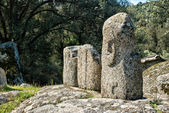 Ancient archeological site of Filitosa, Corsica (France) — Stock Photo