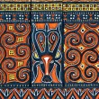 Traditional designs in Tana Toraja region — Stock Photo
