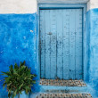 Old door in rabat morocco — Stock Photo