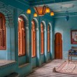 Interior of city Palace in Udaipur — Stock Photo #26966803