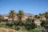 Morocco, Village in the Anti-Atlas mountains — Stock Photo