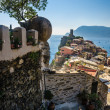 Vernazza, Italy, path to city — Stock Photo #26983401