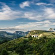 France, landscape in Provence — Stock Photo