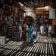 The souk of Marrakech, Morocco — Stok fotoğraf