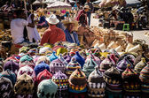 多彩站立在马拉喀什的苏格 — 图库照片