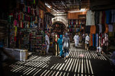 The souk of Marrakech, Morocco — Stock Photo