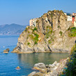 Village of Manarola, Cinque Terre, Italy — Stock Photo