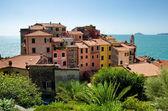 Starożytnej wioski tellaro, Włochy — Zdjęcie stockowe