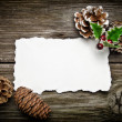 Stock Photo: Greeting card for Christmas
