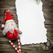 Christmas greeting card — Stock Photo #32053453