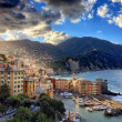 View of Camogli  in the morning light — Stock Photo