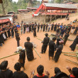 Funeral Procession Descrizione TanToraja — Stock Photo #36569069
