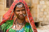 Beautiful rajasthani woman — Stock Photo