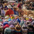 Colorful stand in the suq of Marrakech — Stock Photo