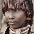Unidentified Hamer woman, Ethiopia — Stock Photo #51526097