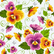 Pansy — Stock Vector #16786417