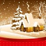 Christmas night — Stock Vector #16787715