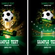 Royalty-Free Stock Vector Image: Soccer poster